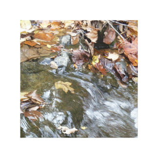 Small Waterfall Wall Hanging Gallery Wrap Canvas