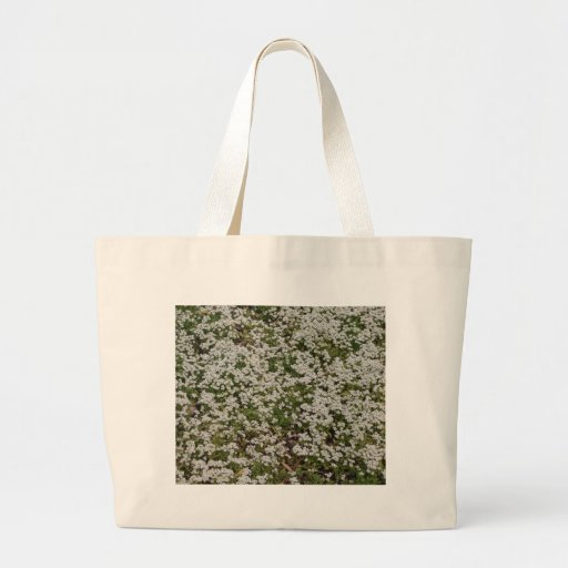 Small White Flowers Bag