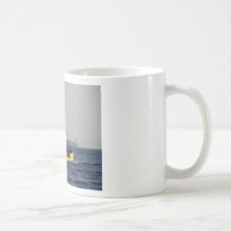 Small Yellow Fishing Boat Coffee Mug