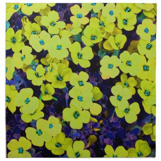 Small Yellow Flowers Napkin