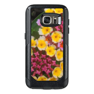 Small Yellow Tropical Flowers With Pink Buds OtterBox Samsung Galaxy S7 Case