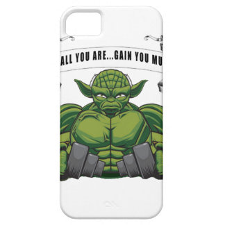 SMALL YOU ARE...GAIN YOU MUST iPhone 5 CASES