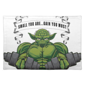 SMALL YOU ARE...GAIN YOU MUST PLACE MAT