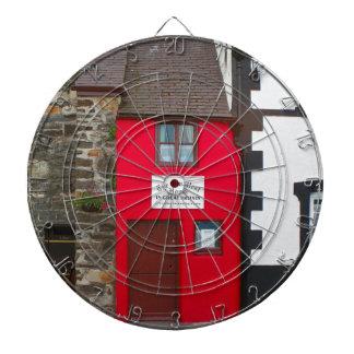 Smallest house in Great Britain Dartboard