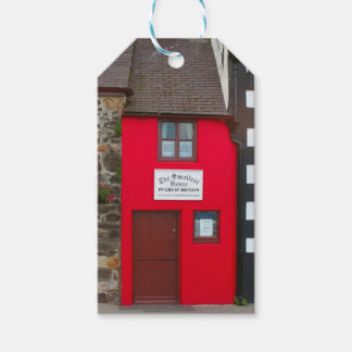 Smallest house in Great Britain Gift Tags