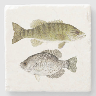 Smallmouth Bass and Crappie Coaster