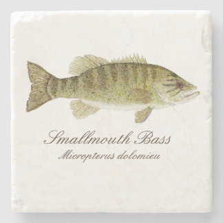 Smallmouth Bass Coaster