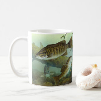 Smallmouth bass coffee mug