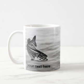 Smallmouth Bass Fishing Coffee Mug