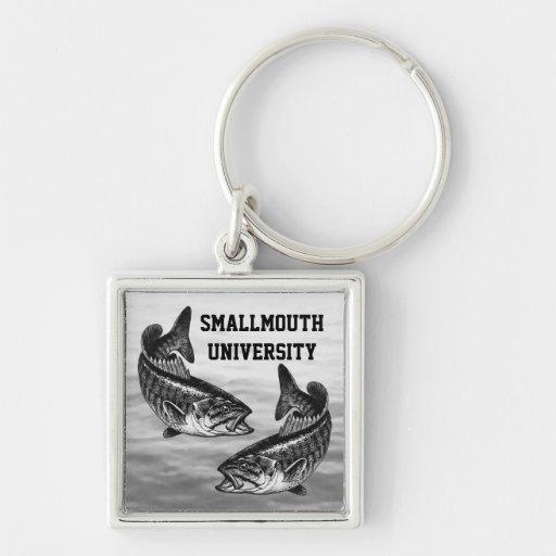 Smallmouth University - Bass Fishing Key Chain