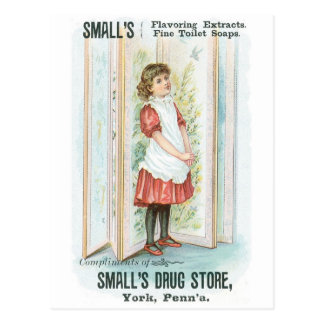 Smalls Flavouring Extracts Postcard