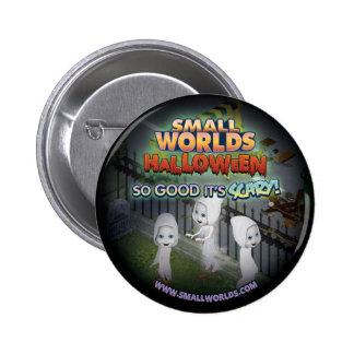 SmallWorlds Halloween Button: Ghost