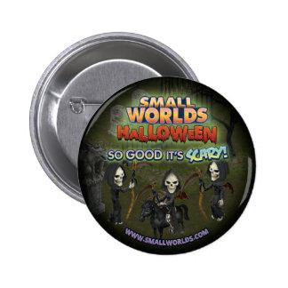 SmallWorlds Halloween Button: Grim Reaper