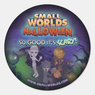 SmallWorlds Halloween Graveyard Stickers