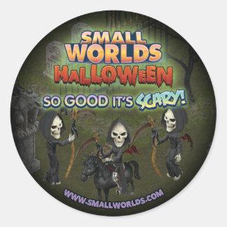 SmallWorlds Halloween Grim Reaper Stickers