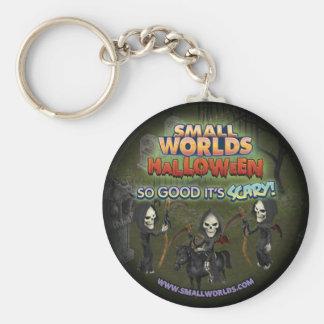 SmallWorlds Halloween Key Chain: Grim Reaper Key Ring