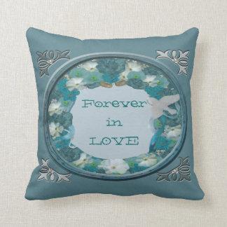 Smalt Blues Horizon Cushion