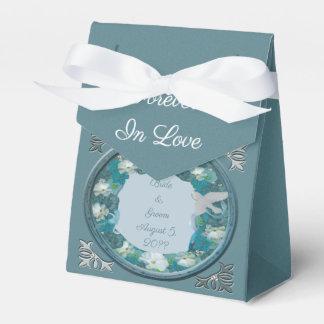 Smalt Blues Horizon Wedding Favour Box