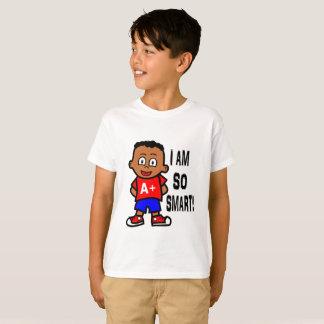 Smart African American Boy T-shirt