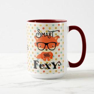 Smart AND Foxy-Dots Mug