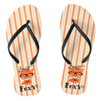 Smart AND Foxy-Stripes Thongs
