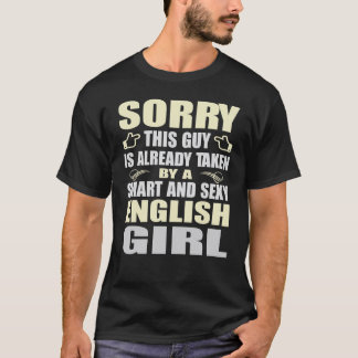 SMART AND SEXY ENGLISH GIRL T SHIRTS