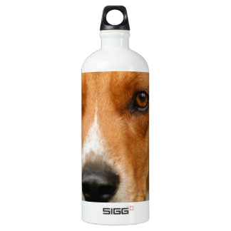 Smart Beautiful Beagle Hunting Dog Water Bottle
