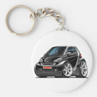 Smart Black Car Key Ring