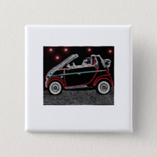 Smart Car 15 Cm Square Badge