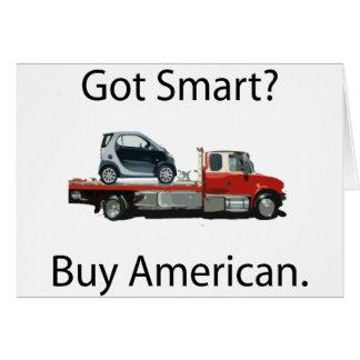 Smart Car Buy American Card
