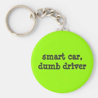 smart car, dumb driver key ring
