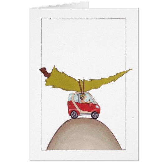 Smart Car Holiday Card