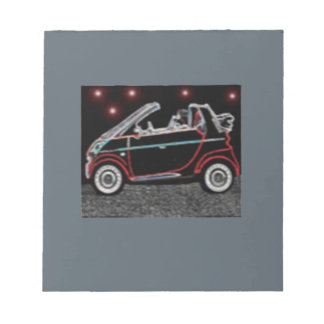 Smart Car Notepad