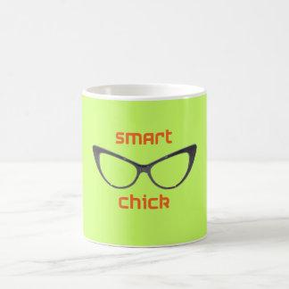 Smart Chick Geek Eyeglasses Mug