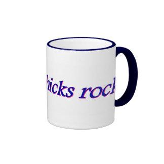 Smart Chicks Rock Mug