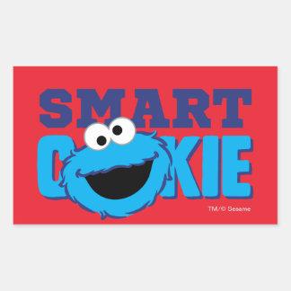 Smart Cookie Monster Rectangular Sticker