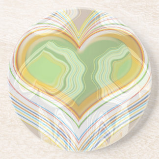 Smart Dancing Hearts Collection Drink Coaster