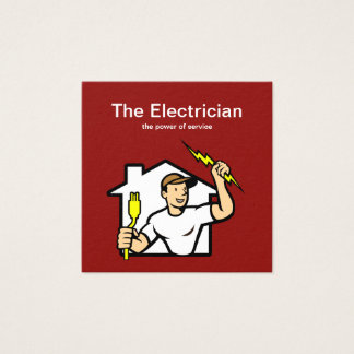 Smart Electrician Business Cards
