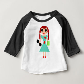 Smart fit Girl Baby T-Shirt