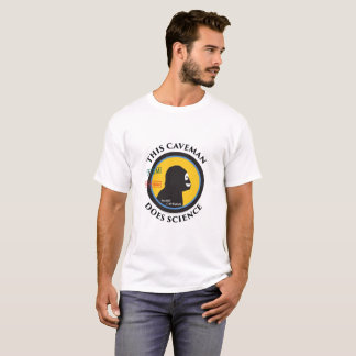 Smart Gear Science Caveman STEM Pocket Logo T-Shirt
