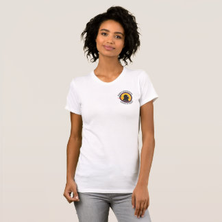 Smart Gear Science Cavewoman STEM Pocket Logo T-Shirt