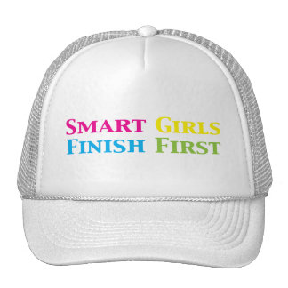 Smart Girls Finish First Gifts i Hats