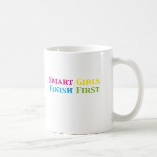 Smart Girls Finish First Gifts i Coffee Mug