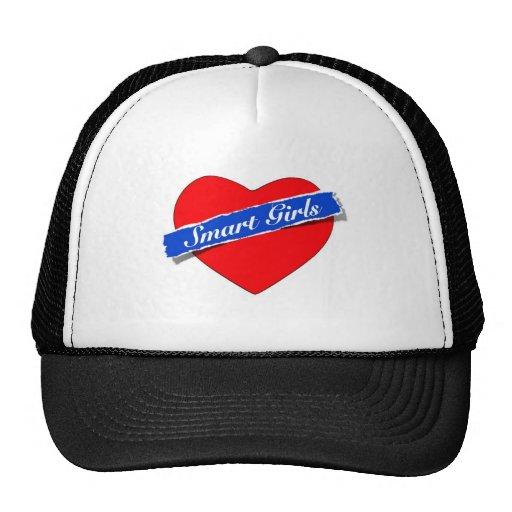 Smart Girls Heart Logo Hats