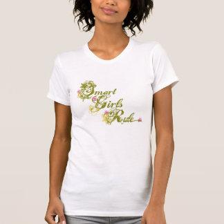 Smart Girls Rule green Tshirts