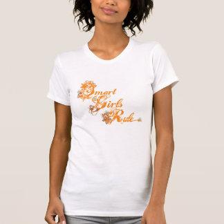 Smart Girls Rule orange T Shirt