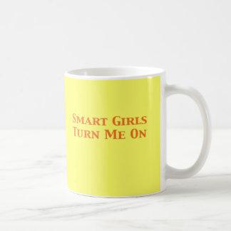 Smart Girls Turn Me On Gifts Coffee Mug