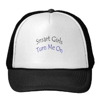 Smart Girls Turn Me On Mesh Hats