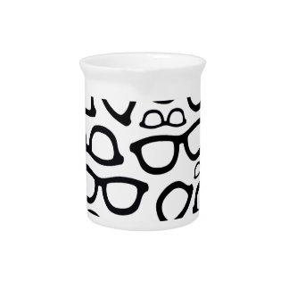 Smart Glasses Pattern Beverage Pitchers