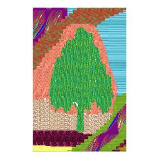 SMART Graphic ART TREE GREEN SCENE lowprice Stationery